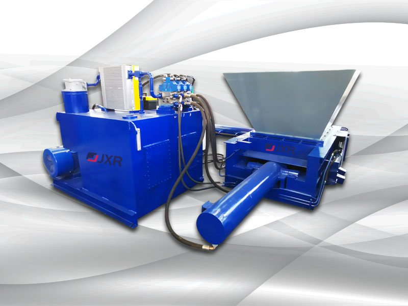 Automatic Aluminum Cans Baler with hopper